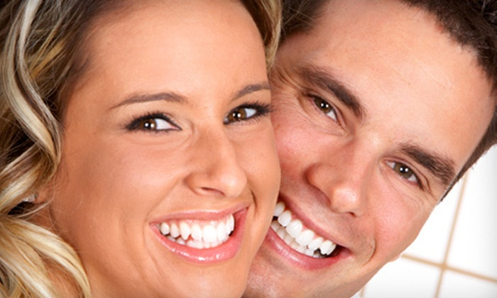 AZ Dental - South San Jose: Dental Exam with Cleaning and X-rays, or One-Hour In-Office Zoom! Whitening at AZ Dental (Up to 86% Off)