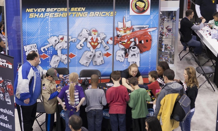 Chicago Toy & Game Fair - Navy Pier: Visit to Chicago Toy & Game Fair at Navy Pier, November 22 and 23 (Up to 50% Off). Four Options Available.
