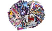 Comic Book w/50 Marvel Bundle