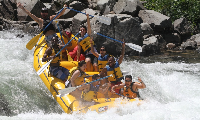 Action Whitewater Adventures - Sacramento: Weekend Half- or Full-Day Rafting Trip and Hot Barbecue Lunch from Action Whitewater Adventures (Up to 46% Off)
