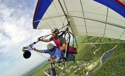 $75 for a Tandem Hang-Gliding Flight Package at The Florida Ridge Air Sports Park ($184 Value)