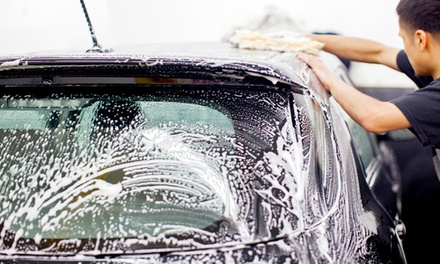 Hand Washes with Tire Shine or Detail Packages at Patriot Car Wash (Up to 56% Off). Three Options Available.