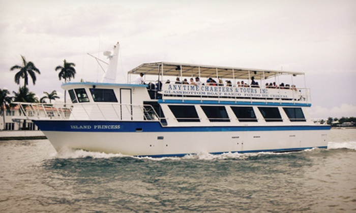 Miami Aqua Tours - Bayside: Sightseeing Cruise for One or Two from Miami Aqua Tours (Up to 54% Off)