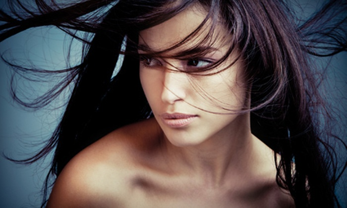 Shear Heaven Salon - Addison: $85 for a Brazilian Blowout at Shear Heaven Salon (Up to $250 Value)