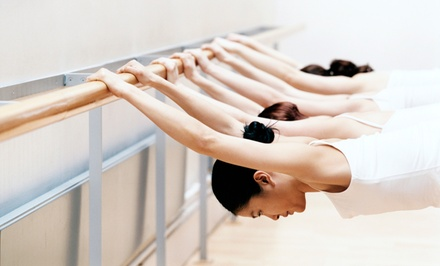 8 or 12 BarreAmped Classes at Club La Maison (Up to 67% Off)