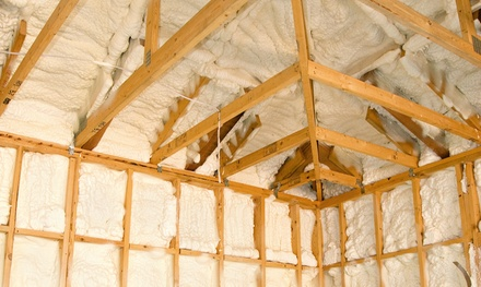 $99 for $500 Toward Spray Foam Attic Insulation from Enertek Efficiency Services