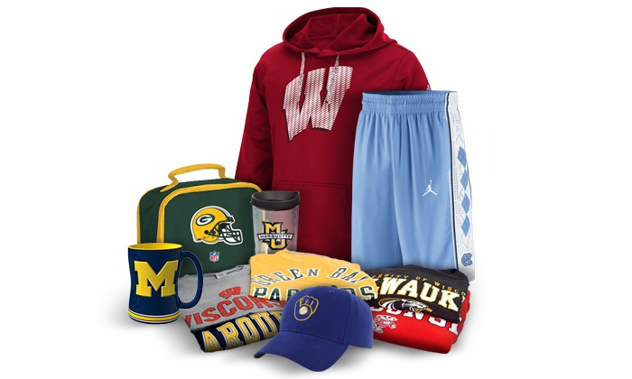 Campus Colors - Mequon: College and Pro Sports Apparel, Novelties & Merchandise at Campus Colors (Up to 50% Off)