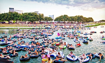 Tube The Trinity At Rockin The River In Fort Worth Tx