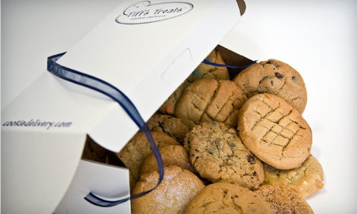 Tiff's Treats: $10 for $20 Worth of Freshly Baked, Warm Cookies and Brownies from Tiff's Treats