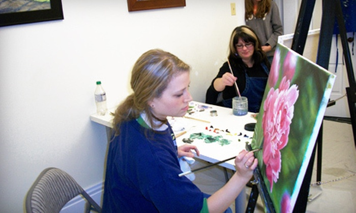 Art Cube Studios - Plainfield: Art Class for Two or Four, or a Private Art Event for 12 at Art Cube Studios (Up to 51% Off)