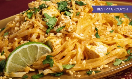 Thai Cuisine at Thai Place Restaurant (Up to 50% off). Two Options Available.