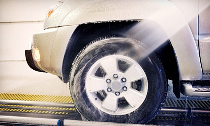 Express Car Wash - Duluth: Three or Six Platinum Car Washes with Lava Wash at Express Car Wash (51% Off)
