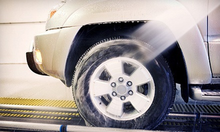 Three or Six Platinum Car Washes with Lava Wash at Express Car Wash (51% Off)