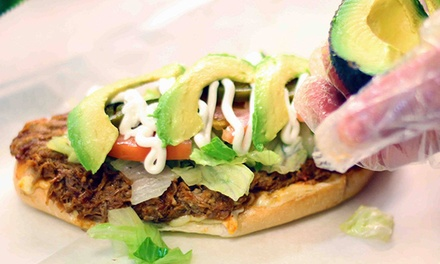 Mexican Cuisine at Las Cazuelas Grill (47% Off). Two Options Available.