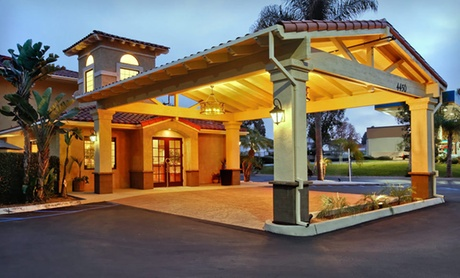 Mission-Style Hotel near SoCal Attractions