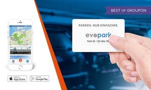 evopark: 20€ Parkguthaben von evopark für City Parkhäuser in Düsseldorf und Koblenz für Neukunden (51% sparen)