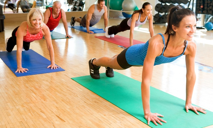 The Gym, Llc - Woonsocket: $45 for $100 Groupon — Gym The