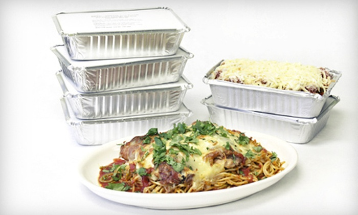 Taste to Savour Catering - Marpole: $45 for Six Take-Home Pasta Dishes from Taste to Savour Catering ($90 Value)