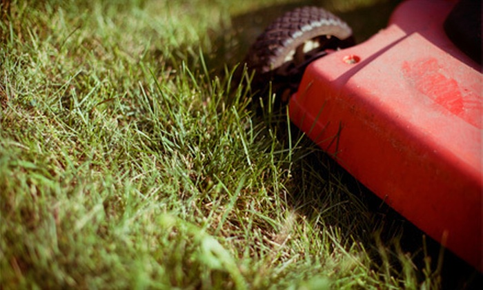Greenway LawnCare - Sans Souci: Two or Four Weeks of Lawn-Care Services from Greenway LawnCare (Up to 59% Off)