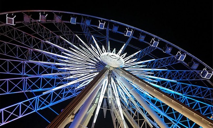 Date Night for Two with Chocolates, Four Admissions, or Annual Pass to SkyView Ferris Wheel (Up to 46% Off)
