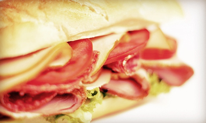 Cafe De France - Downtown Vancouver: Soup and Sandwiches for Two or Four at Cafe De France (Up to 53% Off)