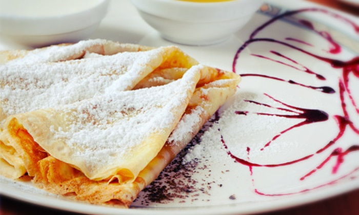 Chit Chat Bistro - Candlelight: Greek Fare and Crepes for Lunch, Sunday Brunch, or Dinner at Chit Chat Bistro in Arvada (Half Off)