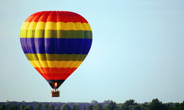 Soaring Adventures of America, Inc - Detroit: Flight Ticket for Hot-Air Balloon Ride for One or Two from Soaring Adventures of America, Inc. (Up to 14% Off)