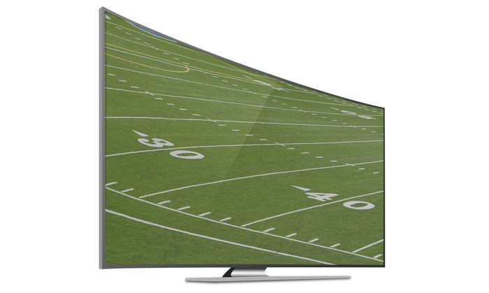"""Groupon Chicago: Enter to Win a Samsung 1080p 55"""" Curved Smart LED TV"""