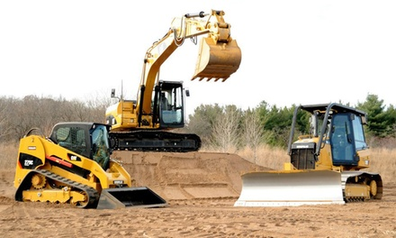 Construction-Vehicle Driving Adventure for 1, 2, or up to 5 at Extreme Sandbox in Hastings (Up to 52% Off)