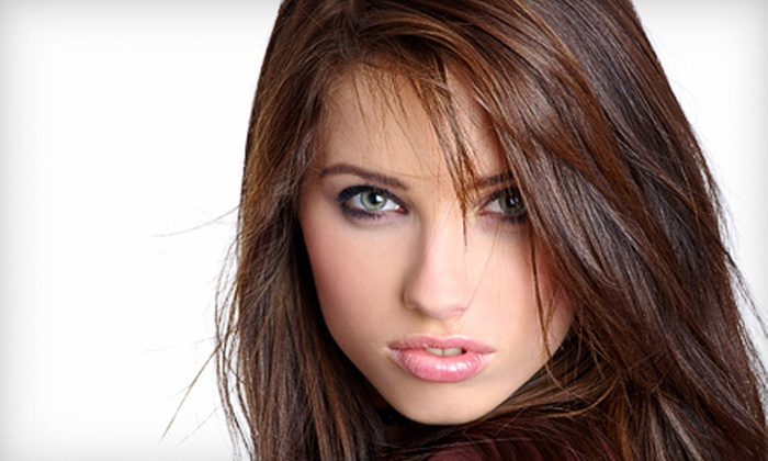 New Creations Hair Salon - Kenvil: Haircut Package with Color or Partial or Full Highlights at New Creations Hair Salon in Succasunna (Up to 66% Off)