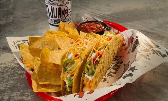 Tijuana Flats - Multiple Locations: $9.99 for $15 Worth of Fresh Tex-Mex at Tijuana Flats