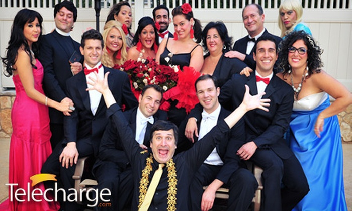 """""""My Big Gay Italian Wedding"""" - Saint Luke's Theatre: """"My Big Gay Italian Wedding"""" at St. Luke's Theatre, June 22–August 24 (Up to 37% Off). Two Seating Options Available."""