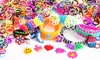 Loom Bands Refill Kit: Loom Bands Refill Kit with 1,200 Multicolored Loom Bands and Accessories. Free Returns.
