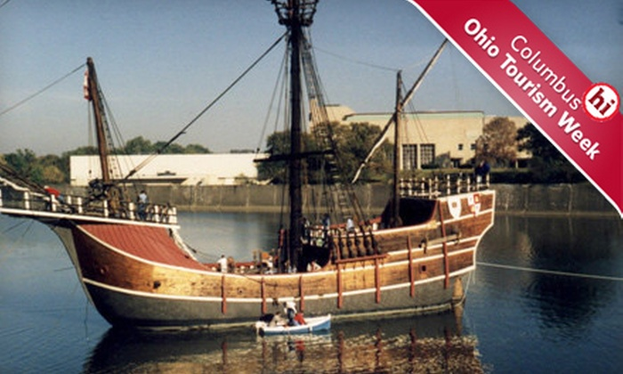 The Santa Maria - Downtown Columbus: $9 for Visit for Four to The Santa Maria (Up to $18 Value)