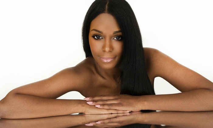 House Of Glam - Missouri City: Brazilian Straightening Treatment from House of Glam Weave and Beauty Bar (64% Off)