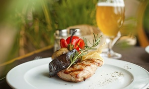Twisted Cork: Dinner, Wine, Craft Beer, or Spirits for Two or Four at Twisted Cork (Up to 42% Off)