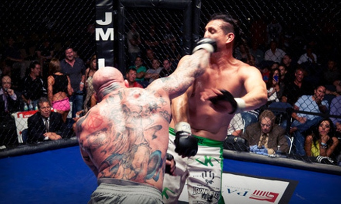 Fight Time 11 - War Memorial Auditorium: $53 for a Fight Time Pro MMA Package for Two from Fight Time Promotions ($107 Value)