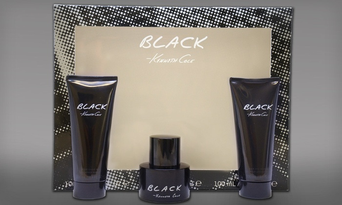 Kenneth Cole Black Three-Piece Gift Set: $15 for a Kenneth Cole Gift Set with Spray, After-Shave Gel, and Hair and Body Wash ($48.80 List Price). Free Shipping.