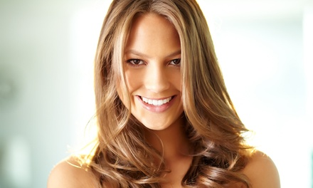 Haircut with Optional Single-Process Color or Partial or Full Highlights from Laura DuPriest (Up to 65% Off)
