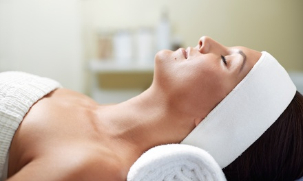 $55 for a Cleansing Dermalogica Facial with Oxygen at Current Skin Care Studio Inc (Up to 66% Off)