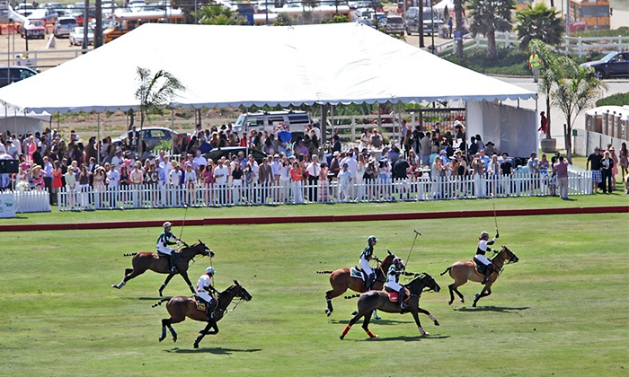San Diego Polo Club - North City: Polo Match for Two or Four at San Diego Polo Club (Up to 62% Off)