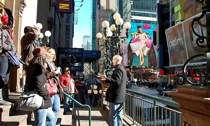 Inside Broadway Tours - George M Cohan Statue: Tour Ticket for One, Two, or Four to Inside Broadway Tours (43% Off)