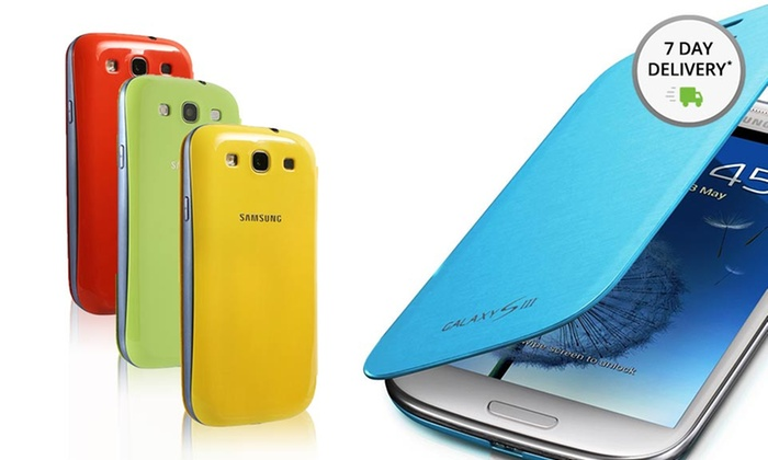 Galaxy S III Cases: Samsung Galaxy S III Flip Cover. Multiple Colors Available. Free Returns.
