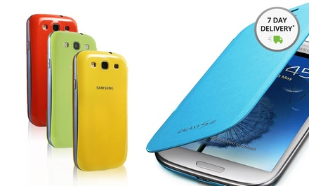 Samsung Galaxy S III Flip Cover. Multiple Colors Available. Free Returns.