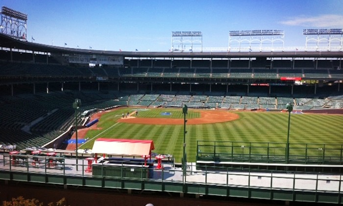 Lakeview Baseball Club - Lakeview Baseball Club - Cubs Rooftop: Rooftop View of a Chicago Cubs Game with Food and Drinks at Lakeview Baseball Club (Up to 46% Off)