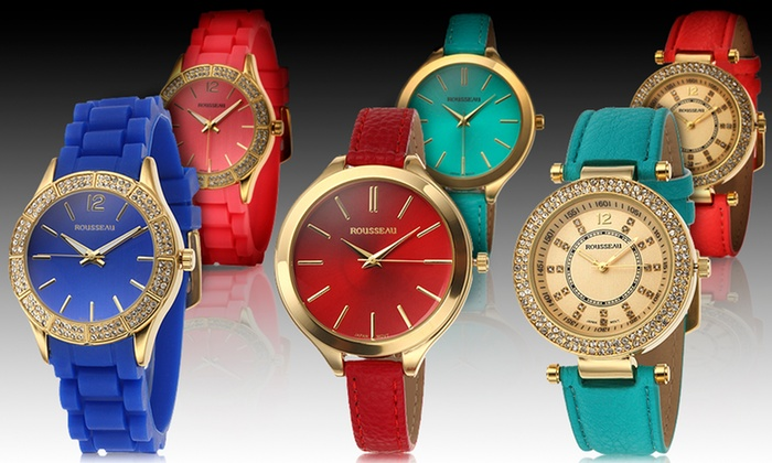Women's Rousseau Watch: Women's Rousseau Watch. Multiple Designs Available. Free Returns.