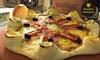 Pizzaria Engenho Paulista - Campinas: Entrada + pizza salgada com borda Vulcanona Pizzaria Engenho Paulista - Cambuí