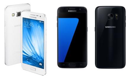 Samsung Galaxy S5 Mini, A3, S5 Neo, S7 reconditionné, Garanti 1 an, livraison offerte.