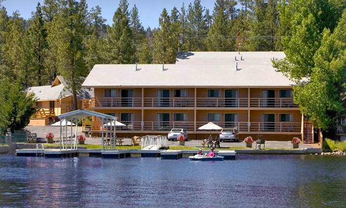 Big Bear Lake Front Lodge - Big Bear Lake, CA: 1- or 2-Night Stay for Two in a Garden-View or Kitchen Suite at Big Bear Lake Front Lodge in Big Bear Lake, CA