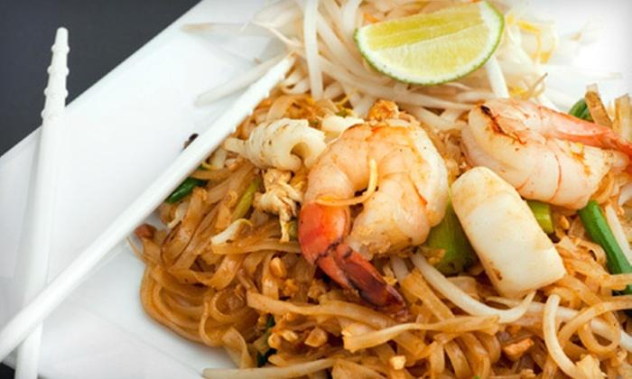 Siam Square Thai Restaurant - Smith's Ferry: $20 for $40 Worth of Thai Dinner Cuisine at Siam Square Thai Restaurant in Northampton